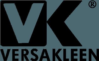 Versakleen logo for https://www.versakleen.com surgical scrub sinks web site in black for site link