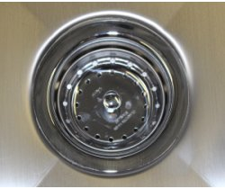 SurgiKleen® Stainless Steel Laboratory Sink Table drain detail
