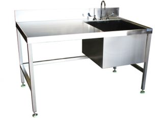 SurgiKleen® Stainless Steel Laboratory Sink Table