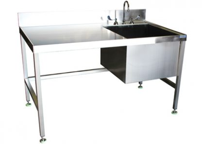 SurgiKleen® Stainless Steel Laboratory Sink Table